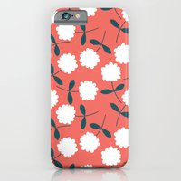 iPhone & iPod Case featuring Daisy Coral by Katy Holmes Illustration