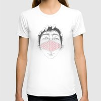 Misfit Circuit 1 Womens Fitted Tee White SMALL