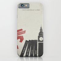 iPhone & iPod Case featuring V for Vendetta, Alternative Movie Poster by Stefanoreves