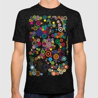 Springs Mens Fitted Tee Tri-Black SMALL