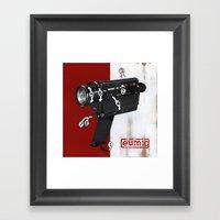 Bad Robot - Super8 Framed Art Print