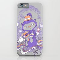 iPhone & iPod Case featuring Tea Monkey Tea Party by jewelwing