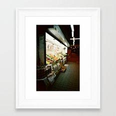 The Fruit Stand Framed Art Print