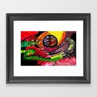 Boa Vs Cobra Framed Art Print