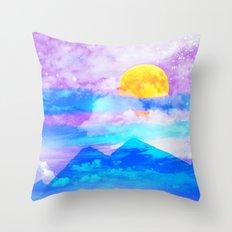 Moonsun Throw Pillow