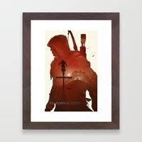 Assasins Creed 3 Framed Art Print