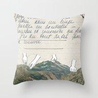 Recette Throw Pillow