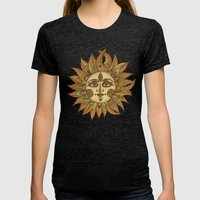 Helios Womens Fitted Tee Tri-Black SMALL