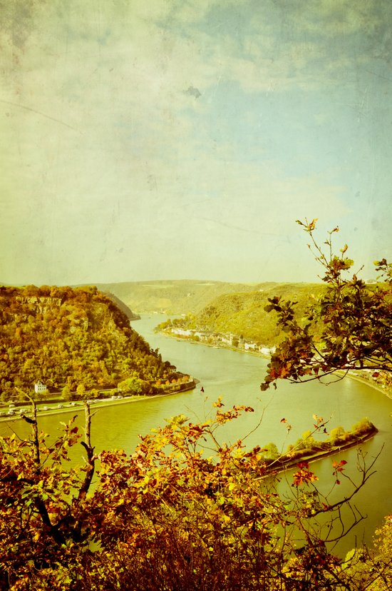 Romantic Rhine I Art Print