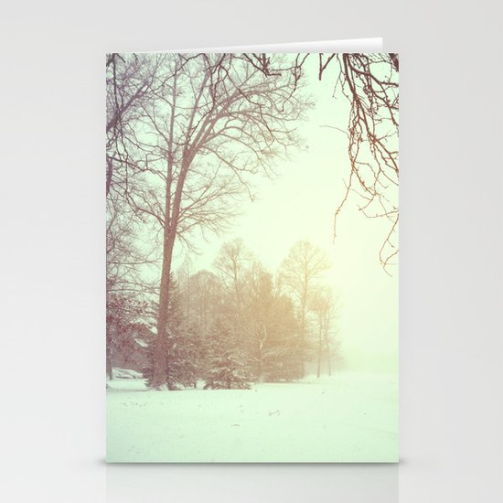 Winter Wonderland Stationery Card