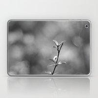 Spring Begins In Black A… Laptop & iPad Skin