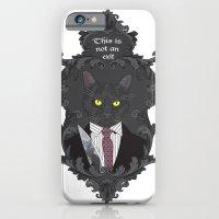American Psycho Kitty iPhone 6 Slim Case