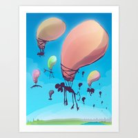 Balloon Animals Art Print