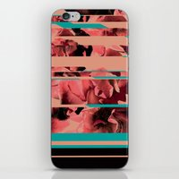 Divided Floral  iPhone & iPod Skin