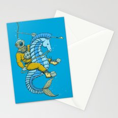 Deep Sea Hunting Stationery Cards