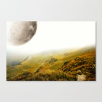 Asteroid • Low Gravity Canvas Print