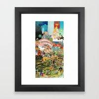 Through The Woods Framed Art Print