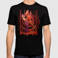 The Devil's Hands are Idle Playthings Mens Fitted Tee Black SMALL