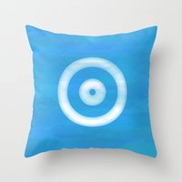 Water Sight Throw Pillow