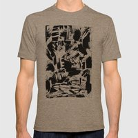 Late night Mens Fitted Tee Tri-Coffee SMALL