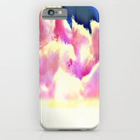 iPhone & iPod Case featuring COTTON CANDY CLOUDS by ScriptShirts