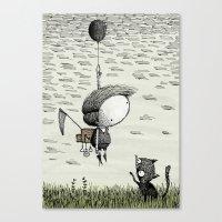 'Balloon' (Colour) Canvas Print
