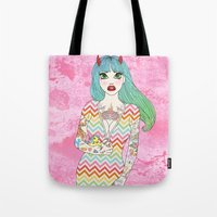 Little Girl Lost Tote Bag
