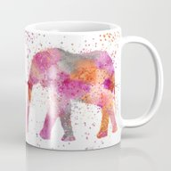 Artsy Elephant Mug