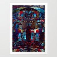 disquiet ten (loud introspections) Art Print