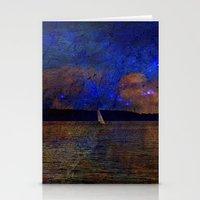 fantasy landscape x Stationery Cards