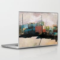 city Laptop & iPad Skins featuring Charm City, MD by Liz Brizzi