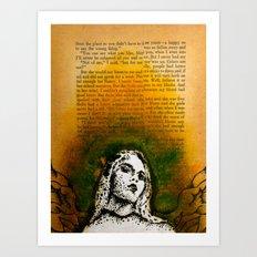 Wings Series Two (Angel)  Art Print