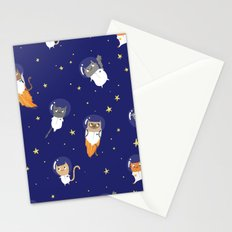 Space Cats - Pattern Stationery Cards