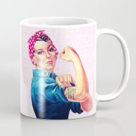 Fight Like A Girl Rosie … Mug