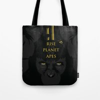 Rise Of The Planet Of Th… Tote Bag