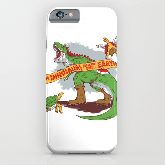 When Dinosaurs ruled the earth iPhone & iPod Case