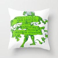 Wise Landsknecht #1 Throw Pillow