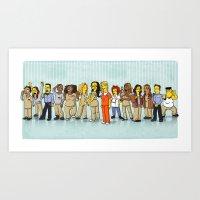Simpsonized Is The New B… Art Print