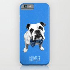 Blue Bowser Slim Case iPhone 6s