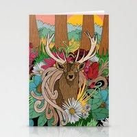 Spring Woodland Stationery Cards