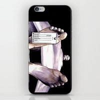 Toe Tag iPhone & iPod Skin