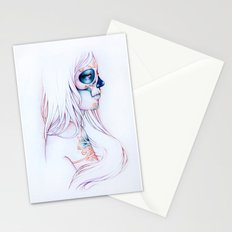 Between Lines is Silence Stationery Cards