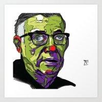 J.P. Sartre Art Print