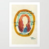 Feel Something Art Print