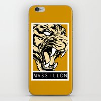 MASSILLON TIGER iPhone & iPod Skin