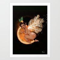Fée Cointreau / Fairy C… Art Print
