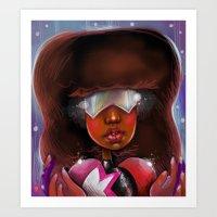 Garnet :: Stronger Than You Art Print
