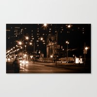 Montreal Nights Canvas Print