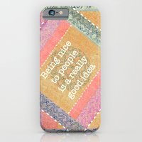 iPhone & iPod Case featuring Coral Melody by Vanya