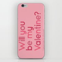 Will You Be My Valentine… iPhone & iPod Skin